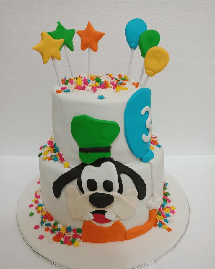 Slightly Goofy Cake
