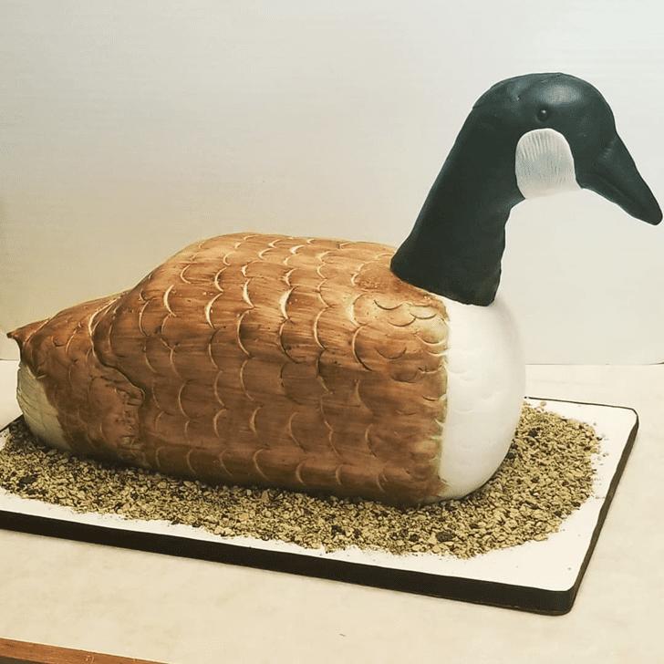 Admirable Goose Cake Design