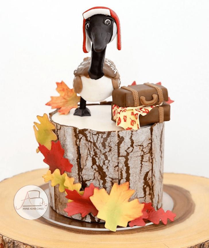 Alluring Goose Cake