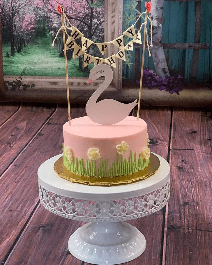 Cute Goose Cake