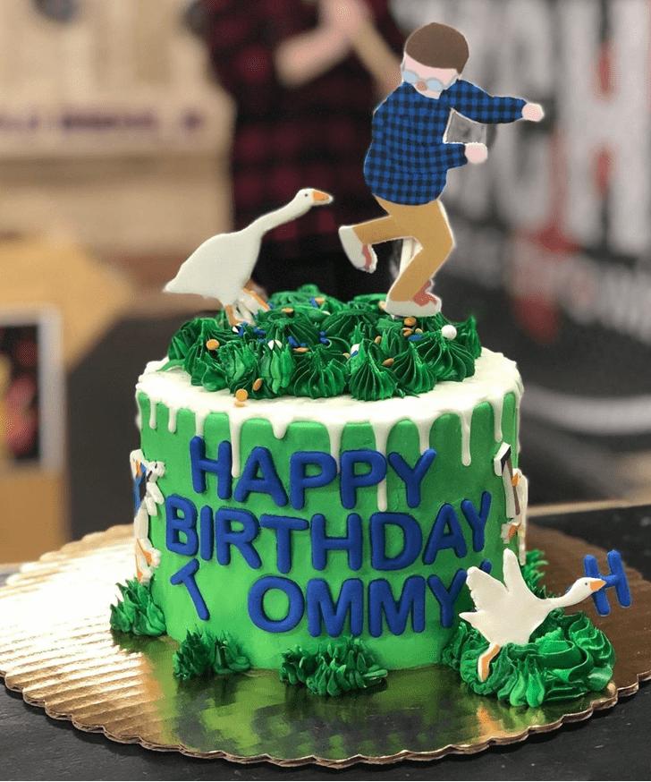Enthralling Goose Cake