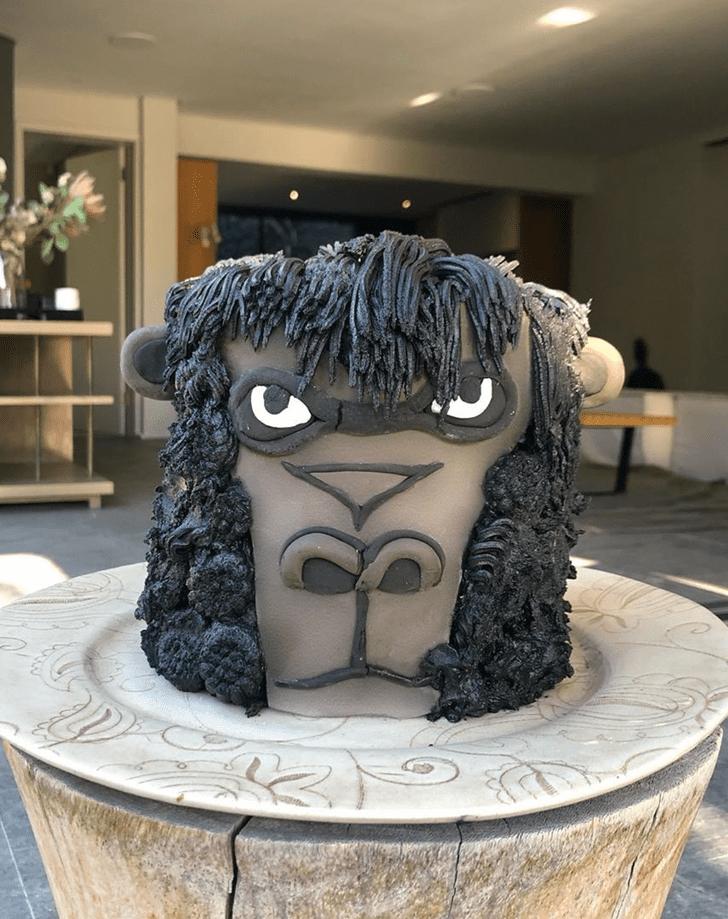Admirable Gorilla Cake Design