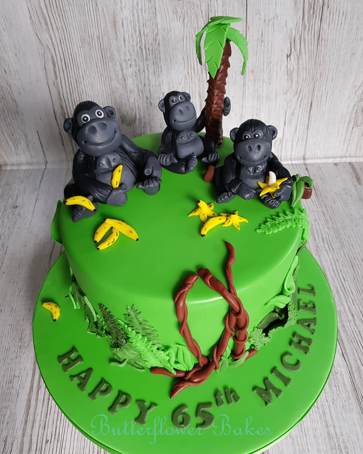 Angelic Gorilla Cake