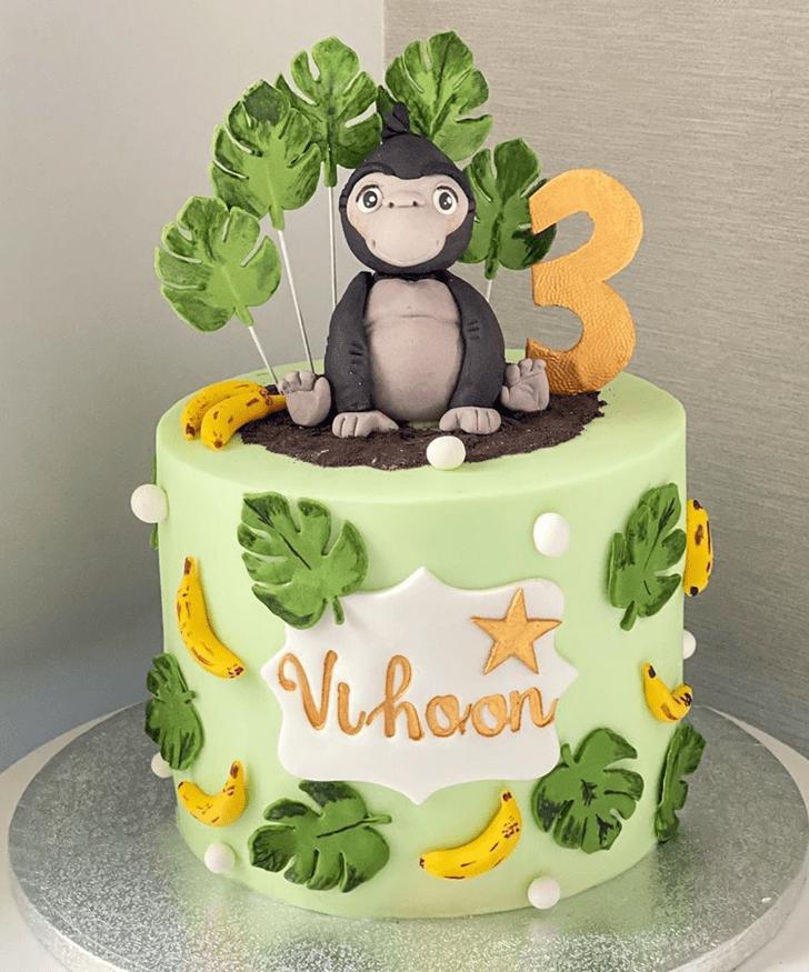 Appealing Gorilla Cake