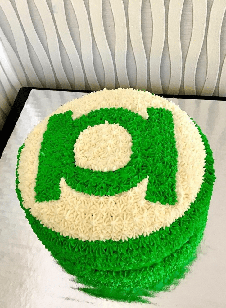 Adorable Green Lantern Cake