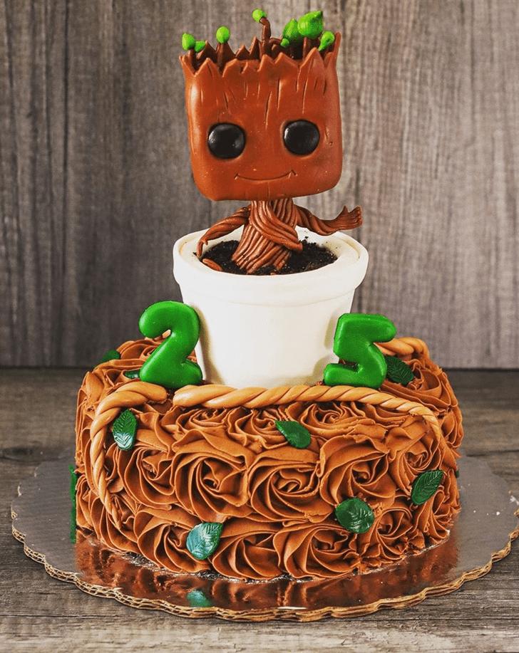 Beauteous Groot Cake