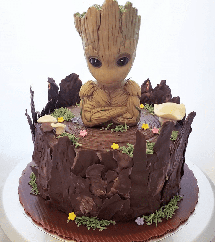 Comely Groot Cake