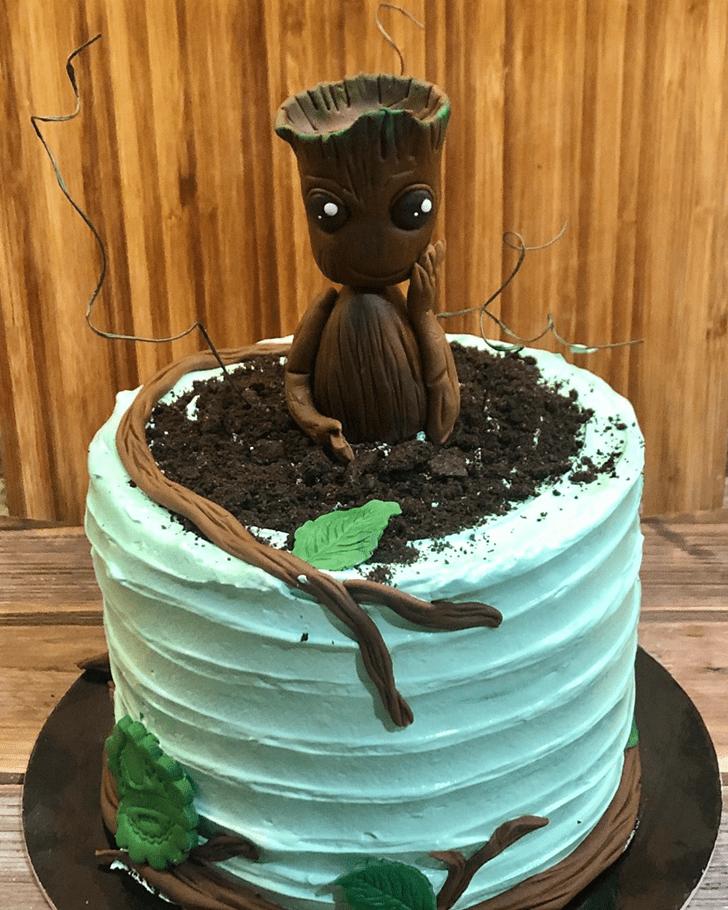 Delightful Groot Cake