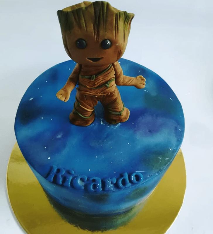Elegant Groot Cake