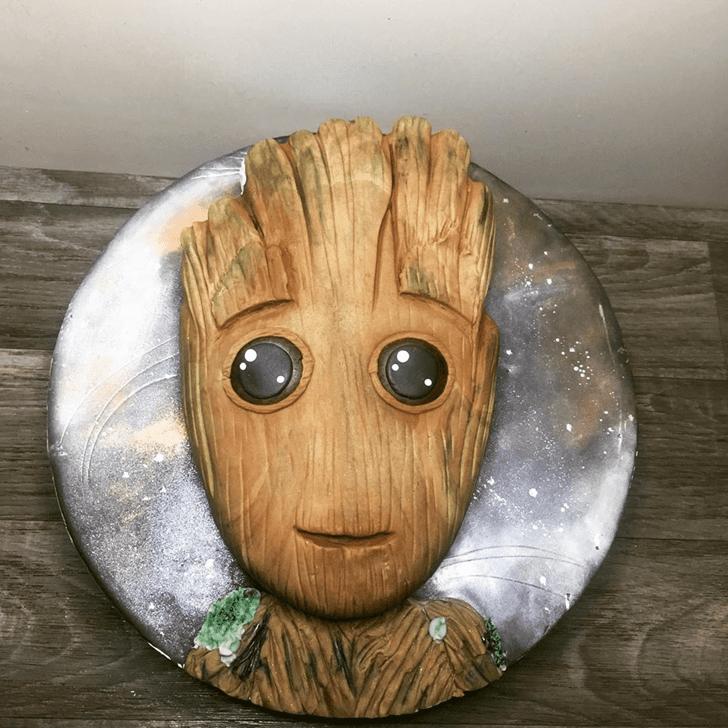 Handsome Groot Cake