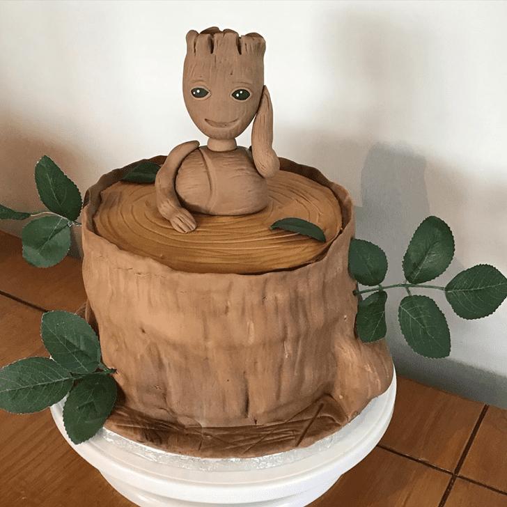 Ravishing Groot Cake