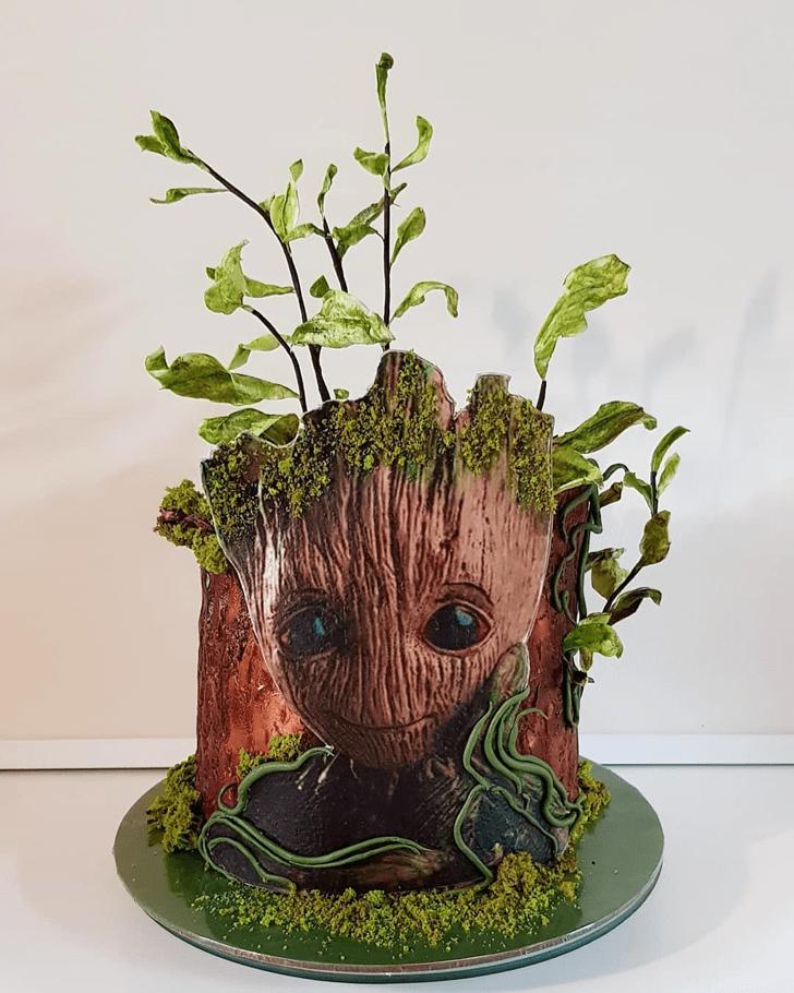 Stunning Groot Cake