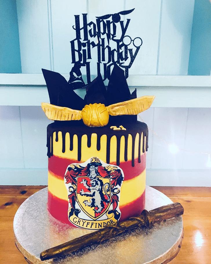 Appealing Gryffindor Cake