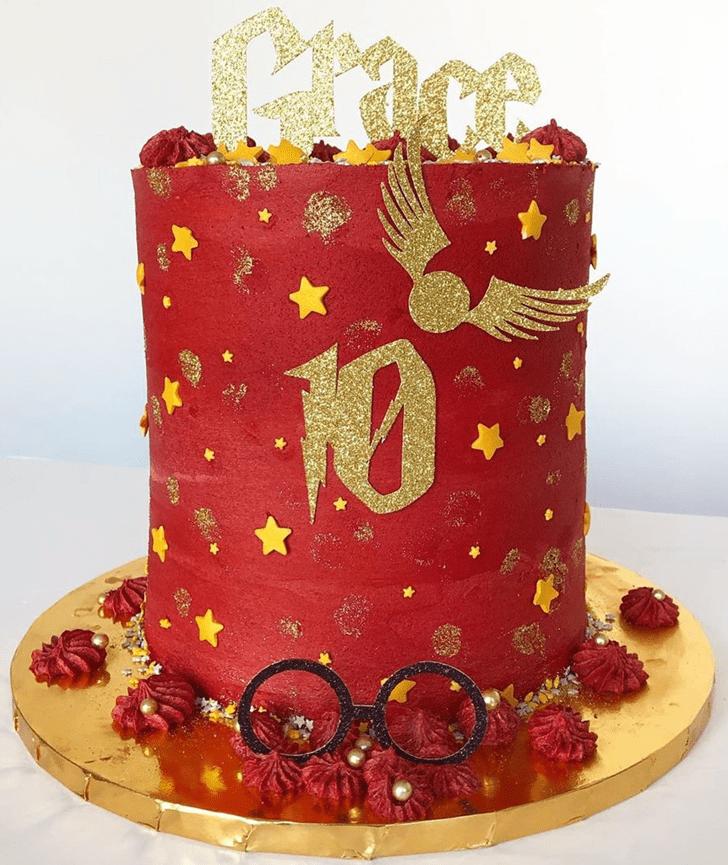 Bewitching Gryffindor Cake
