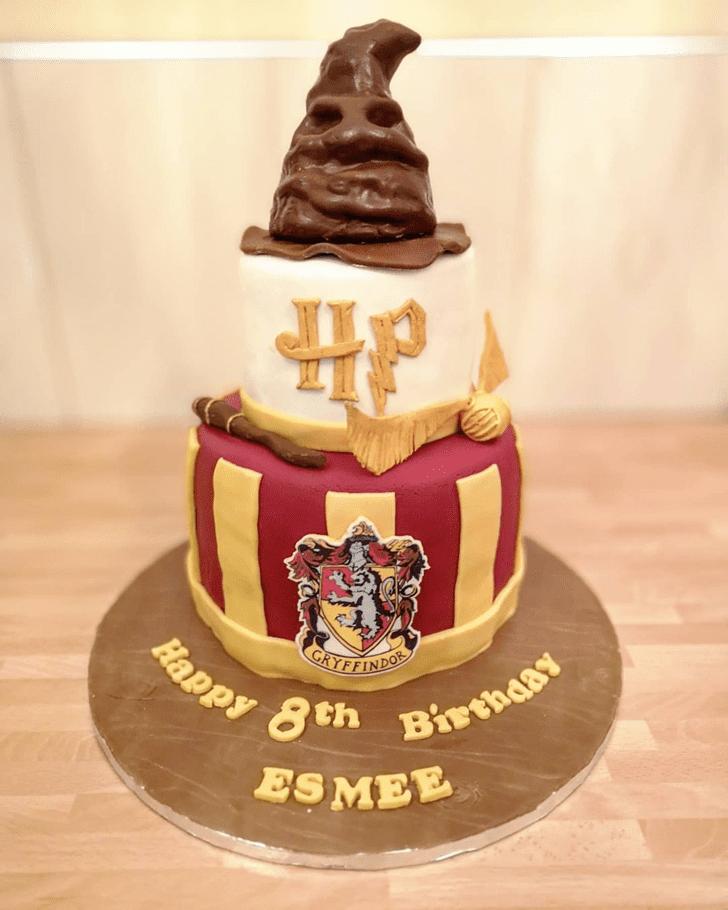 Charming Gryffindor Cake