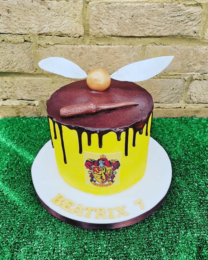 Classy Gryffindor Cake