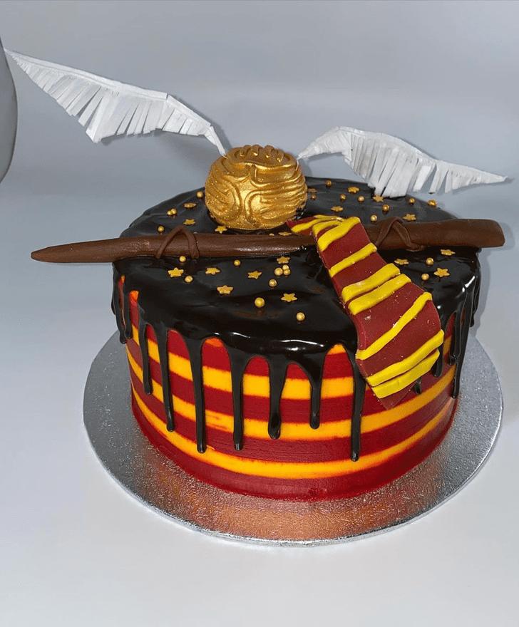 Dazzling Gryffindor Cake