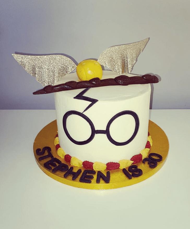 Delightful Gryffindor Cake
