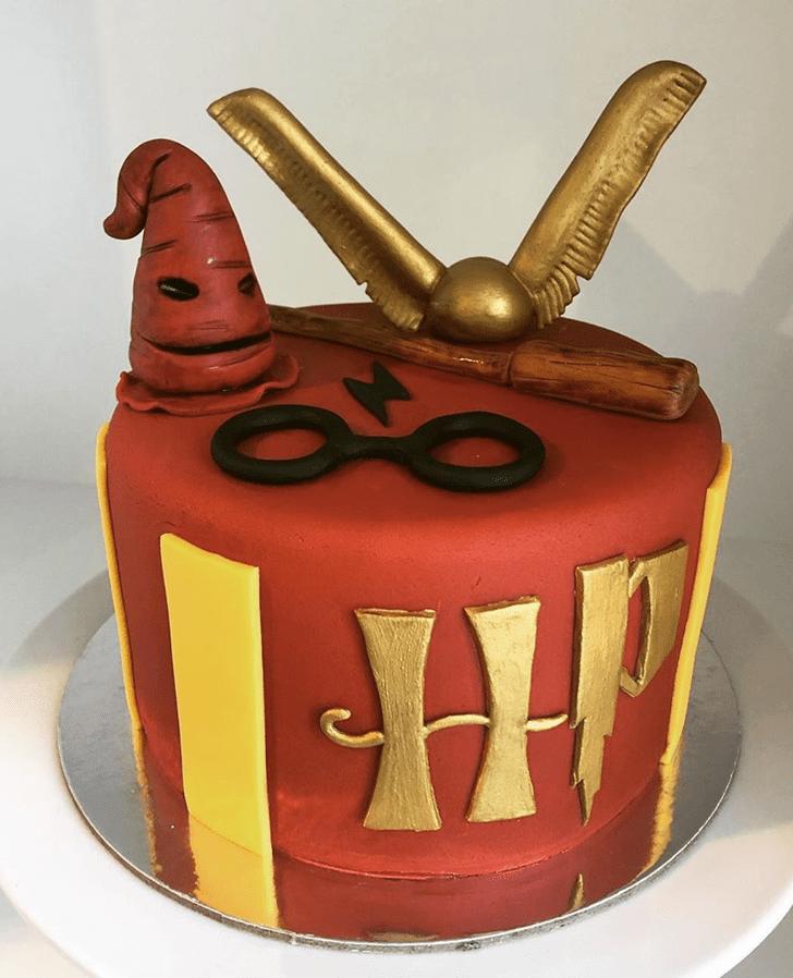 Excellent Gryffindor Cake