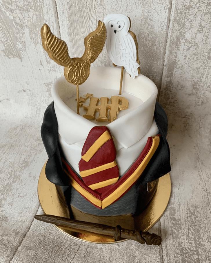 Fair Gryffindor Cake