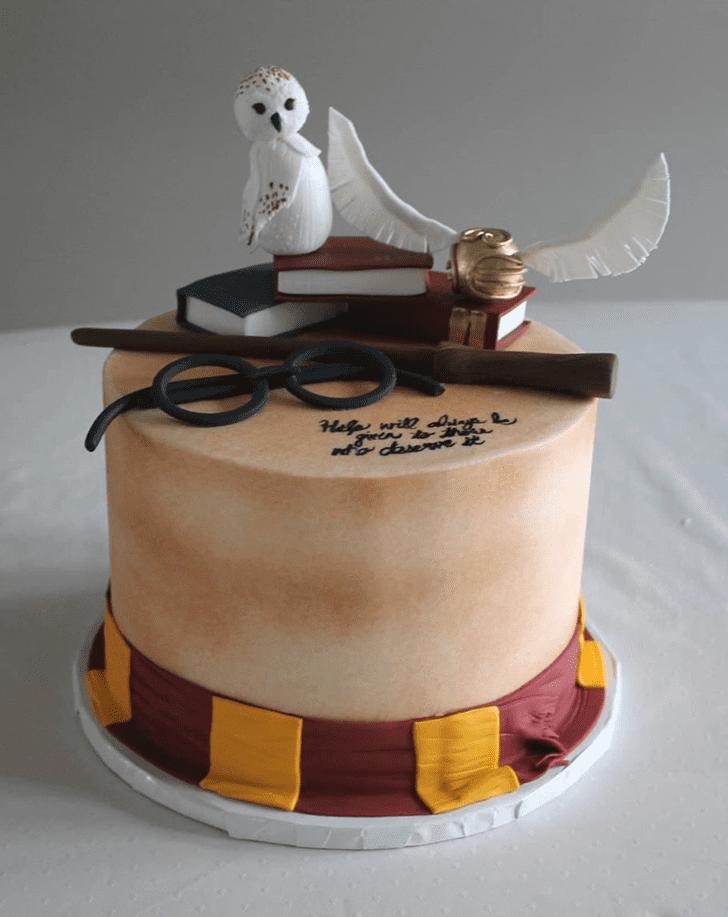 Gorgeous Gryffindor Cake