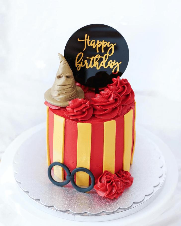 Grand Gryffindor Cake