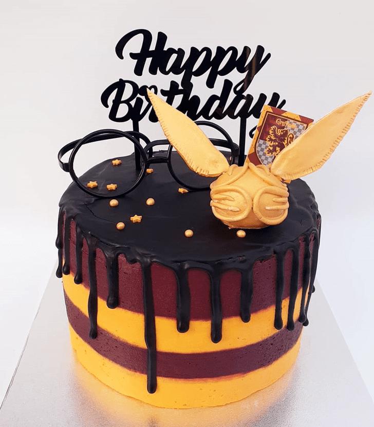Magnetic Gryffindor Cake