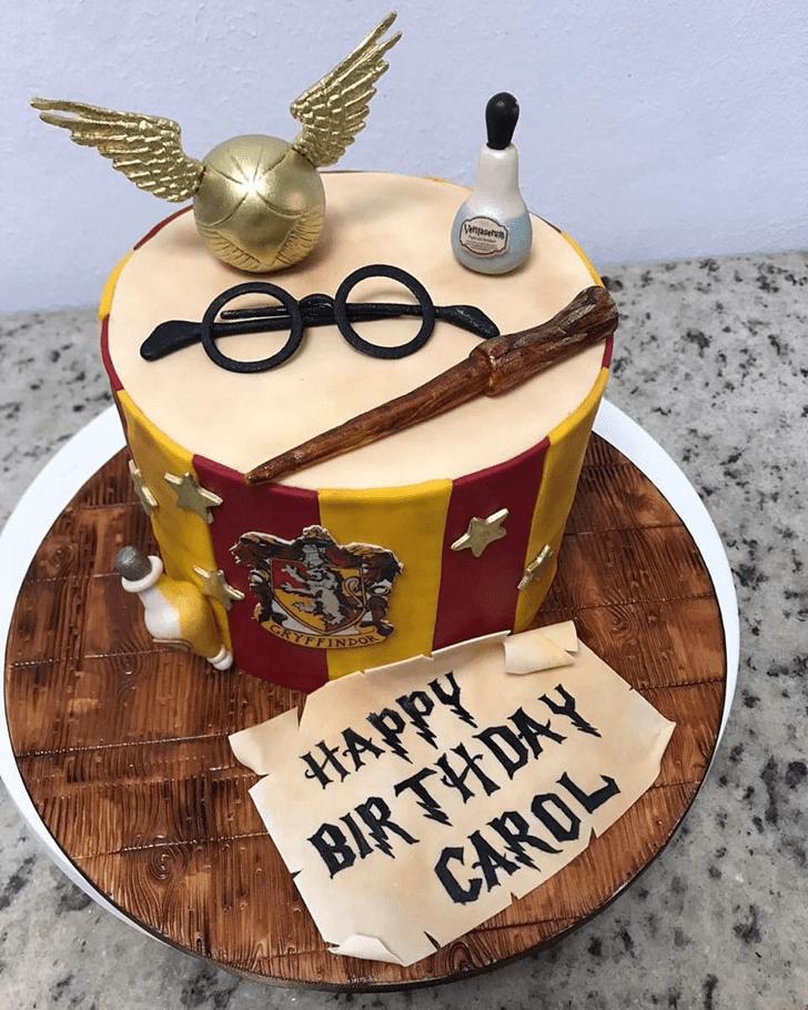 Marvelous Gryffindor Cake