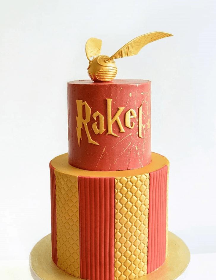 Radiant Gryffindor Cake