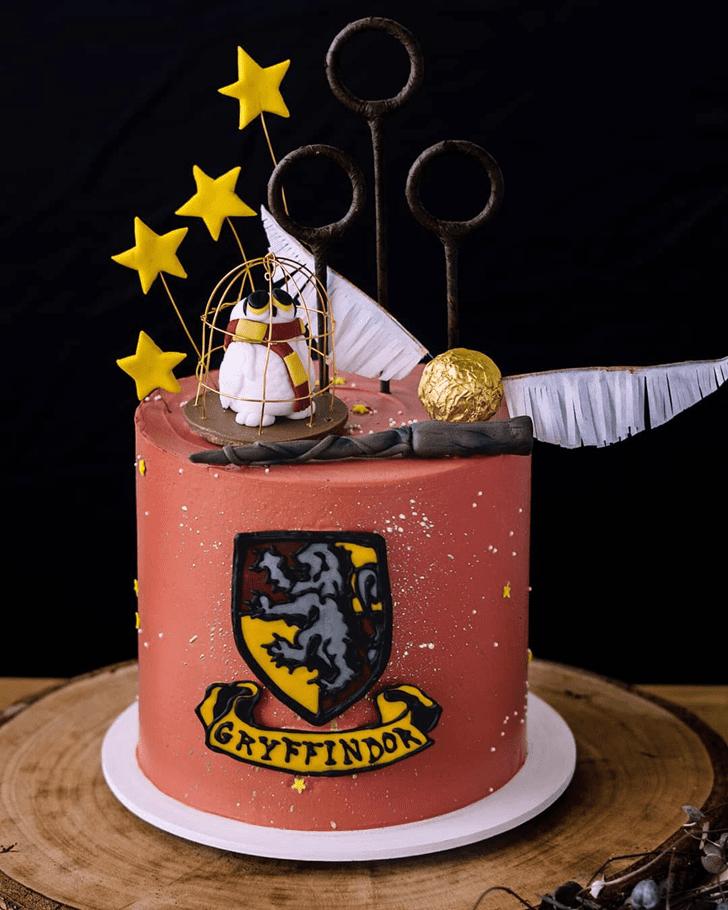 Ravishing Gryffindor Cake