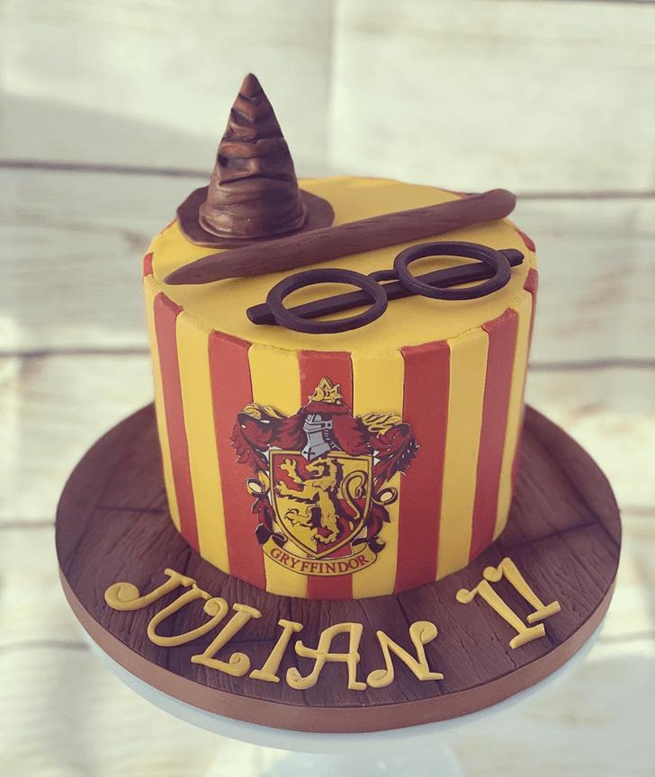 Refined Gryffindor Cake