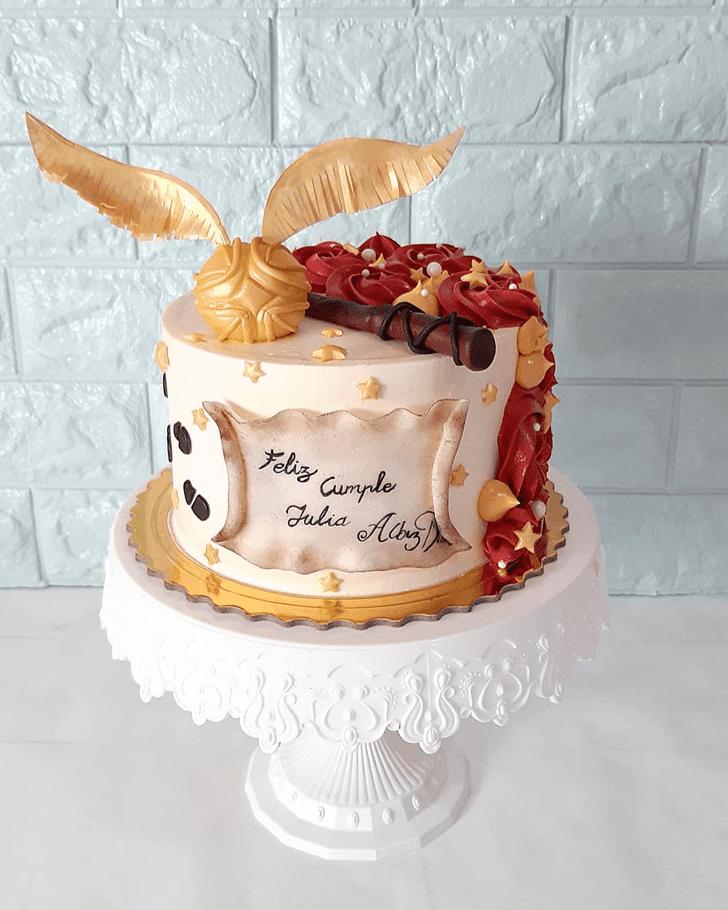 Resplendent Gryffindor Cake