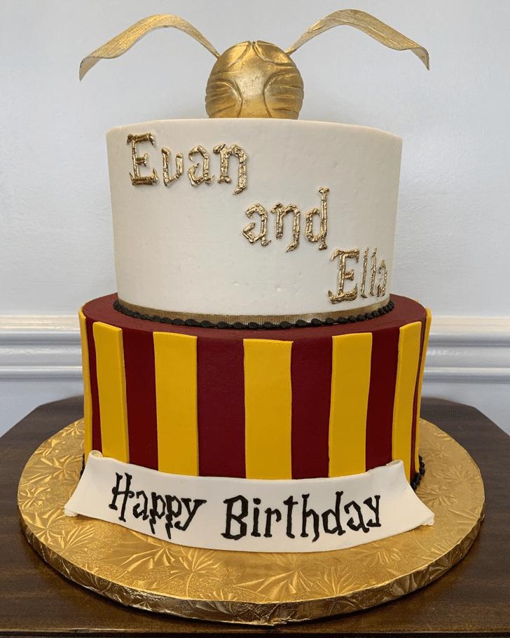 Stunning Gryffindor Cake