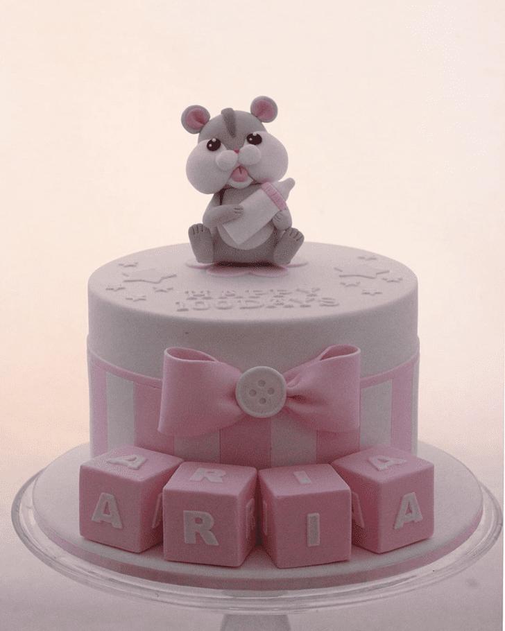 Alluring Hamster Cake