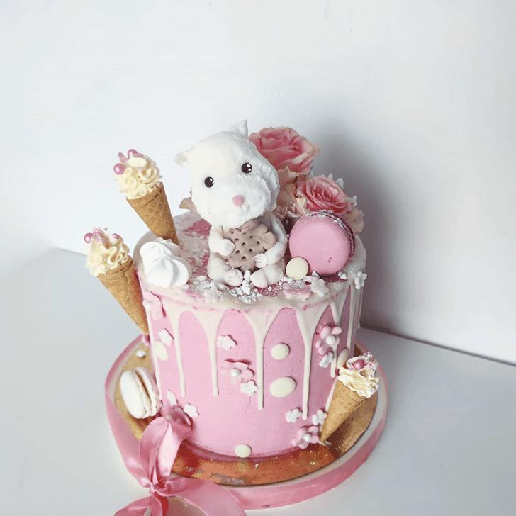 Angelic Hamster Cake