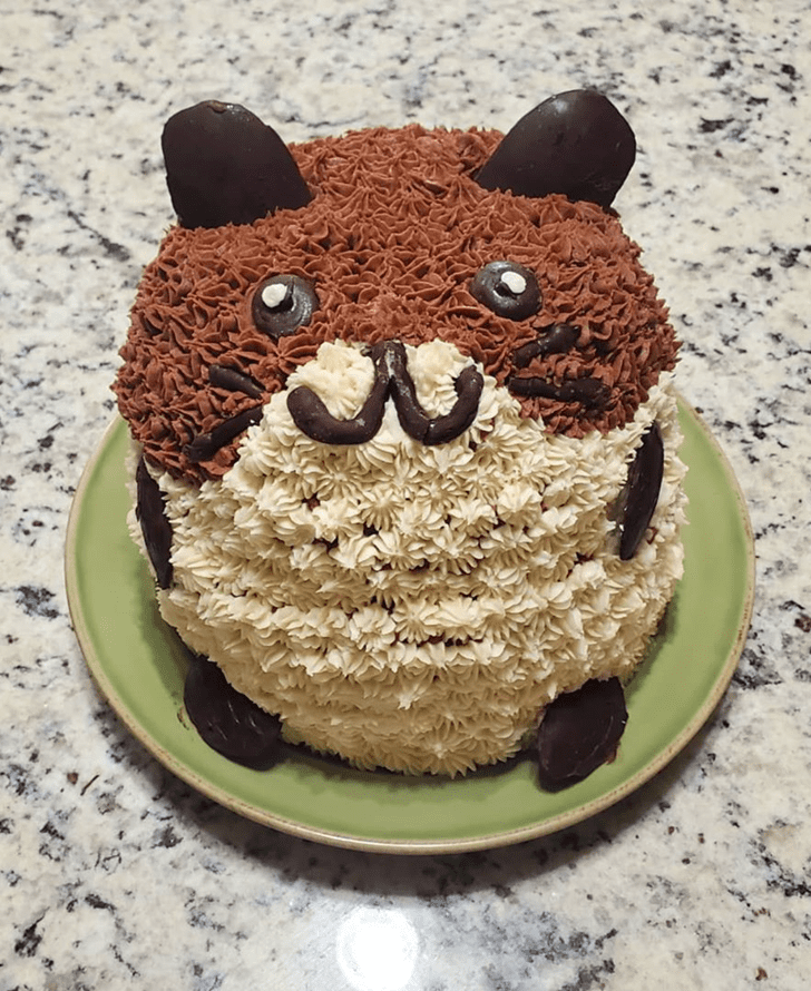Beauteous Hamster Cake