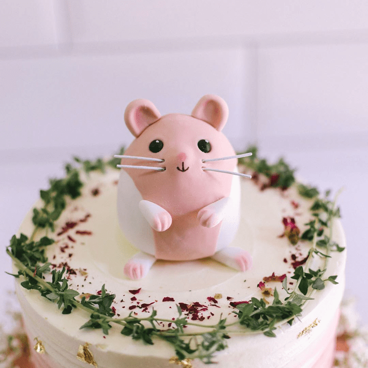 Captivating Hamster Cake