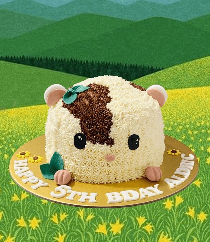 Classy Hamster Cake