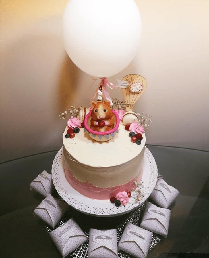 Cute Hamster Cake