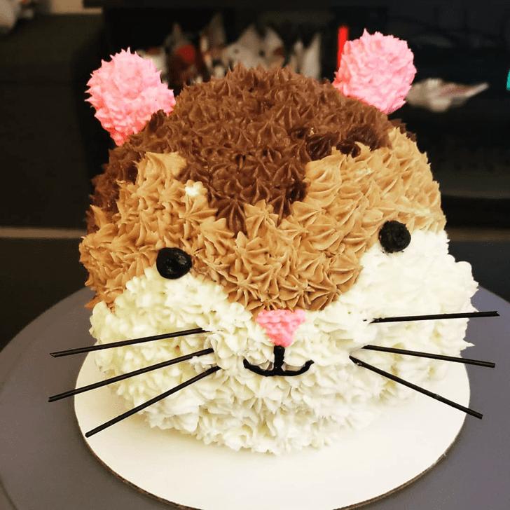 Delicate Hamster Cake