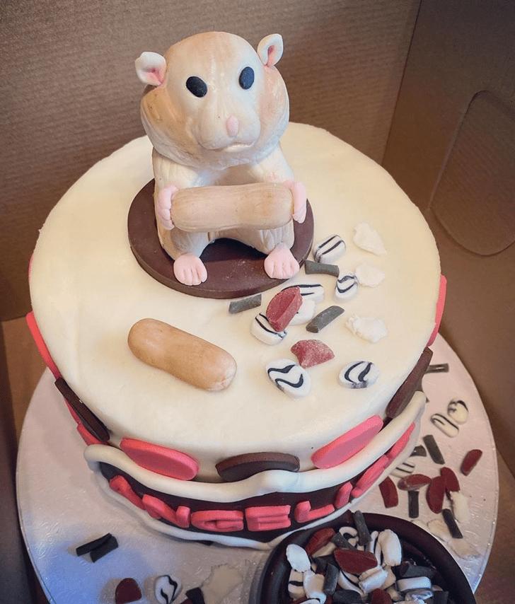 Delightful Hamster Cake