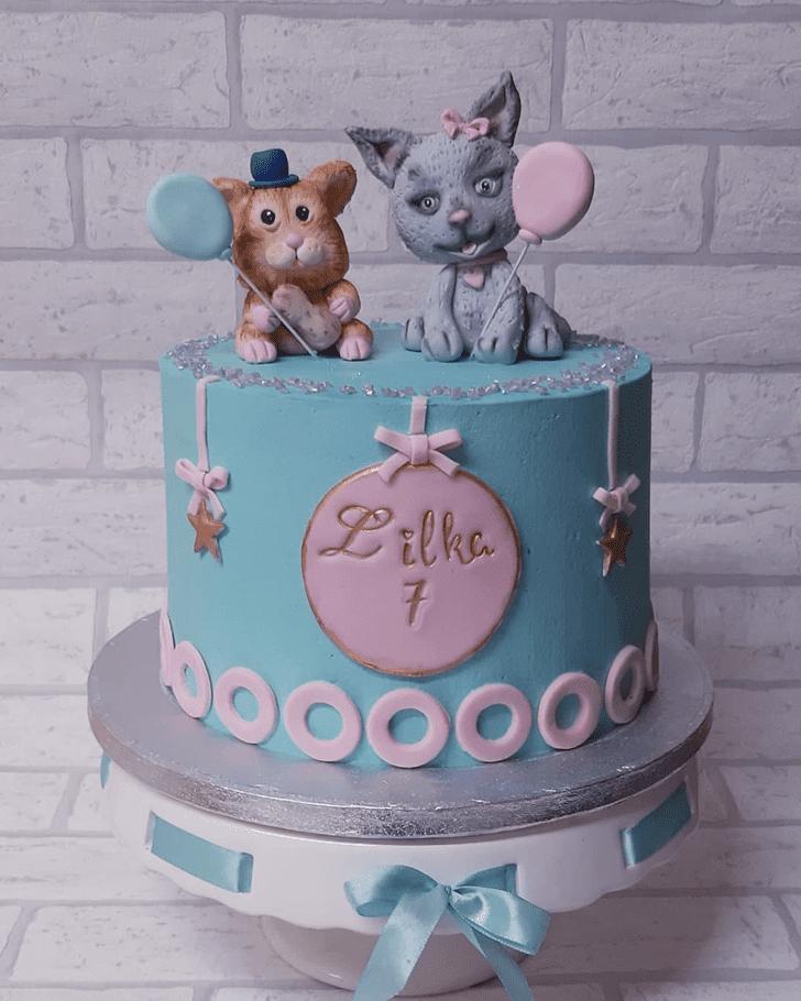 Enthralling Hamster Cake