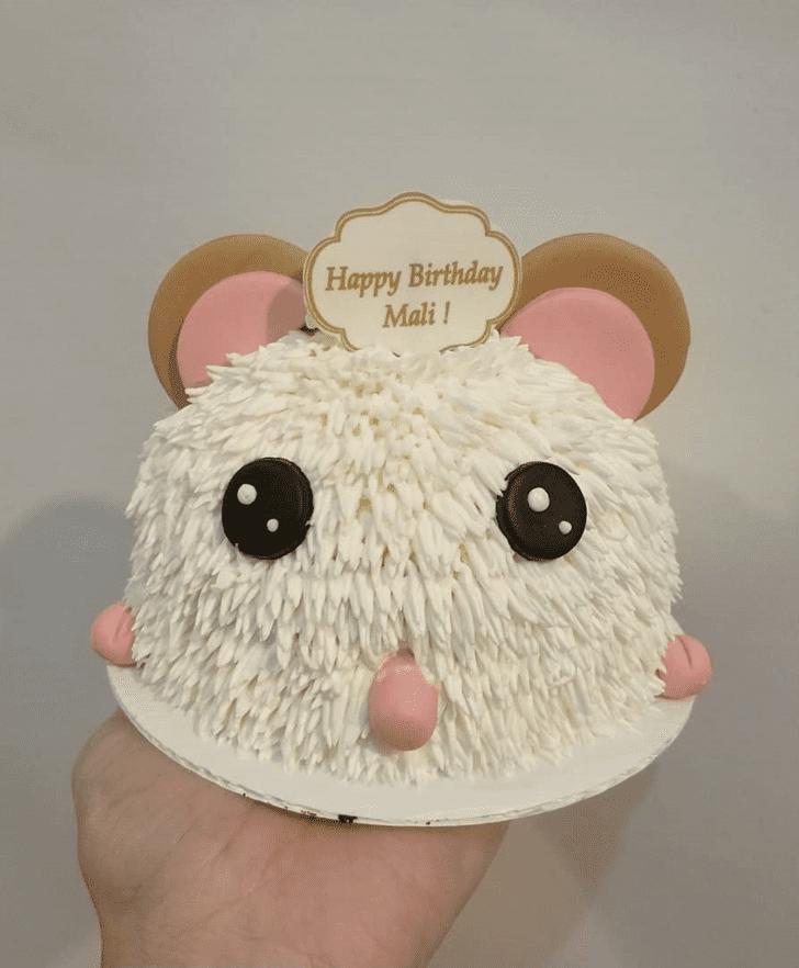Enticing Hamster Cake