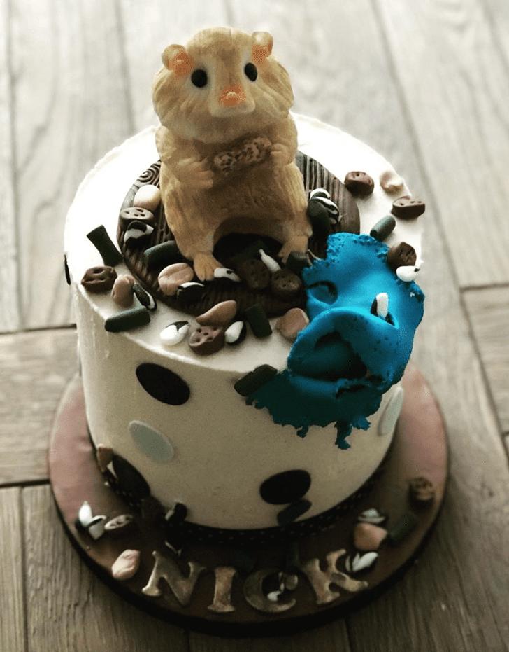 Fascinating Hamster Cake