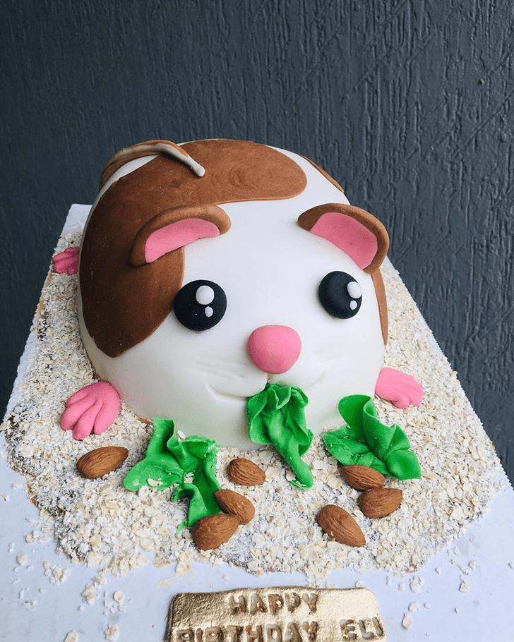 Gorgeous Hamster Cake