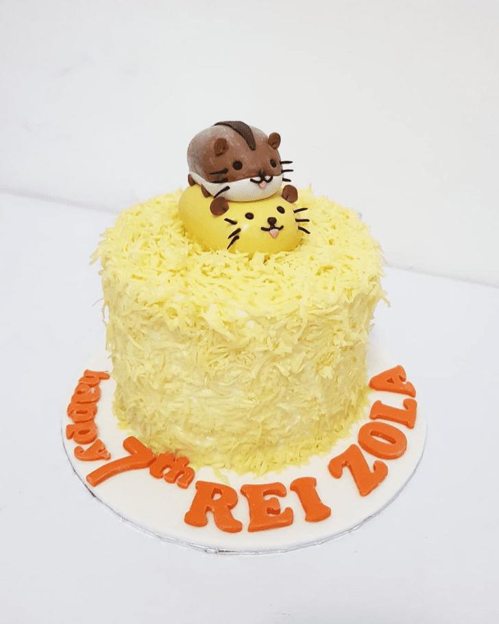 Inviting Hamster Cake