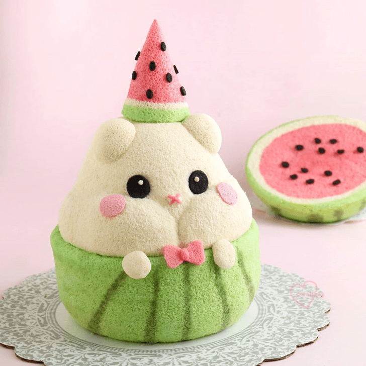 Magnificent Hamster Cake