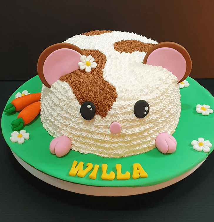 Mesmeric Hamster Cake