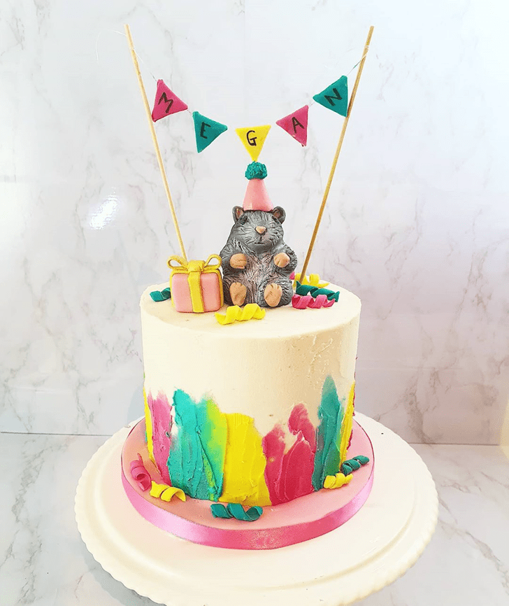 Nice Hamster Cake