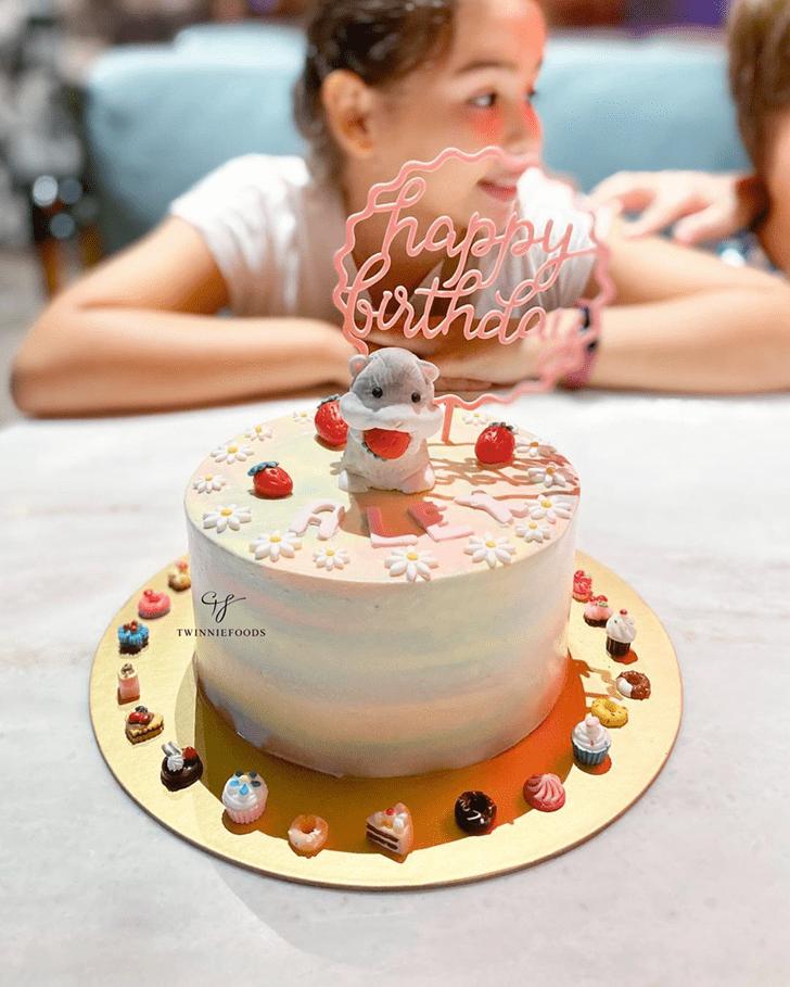 Radiant Hamster Cake